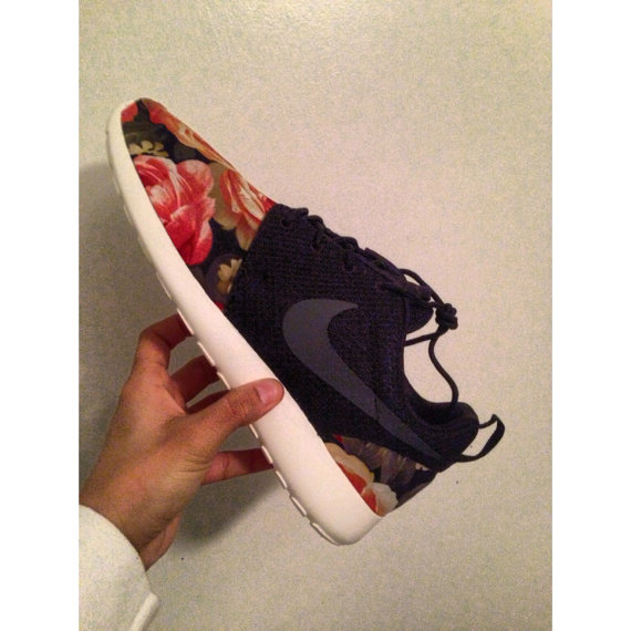 Roshe Run Damen Blumen