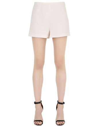 shorts couture silk wool