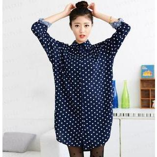 Dot Shirtdress