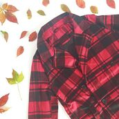 jacket,the shopping bag,red plaid,plaid print,plaid jacket,fall outfits,fall jacket,red plaid jacket,double breasted jacket,plaid double breasted jacket,clothes,trendy,36683,plaid