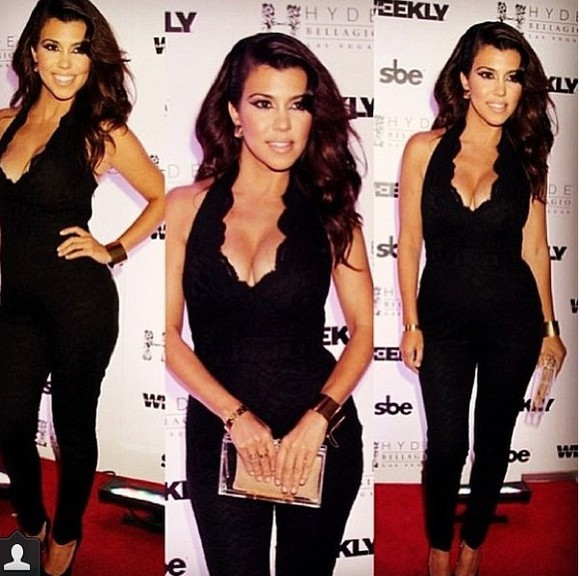 kourtney kardashian blouse jumpsuit fabulous