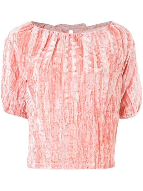 Rejina Pyo blouse women purple pink top