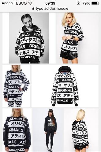 jacket typo adidas adidas typo hoodie adidas hoodie japanese fashion sweater