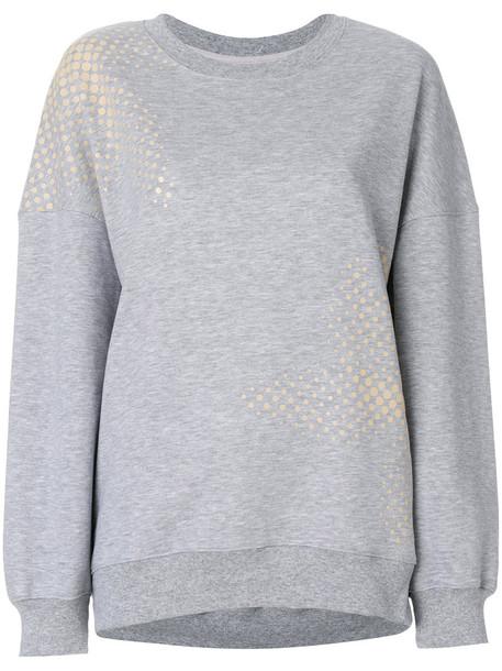 Ioana Ciolacu sweatshirt women cotton grey sweater