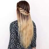hair accessory,tresse,long cheveux,tresse flou,d?coiff?,en couronne