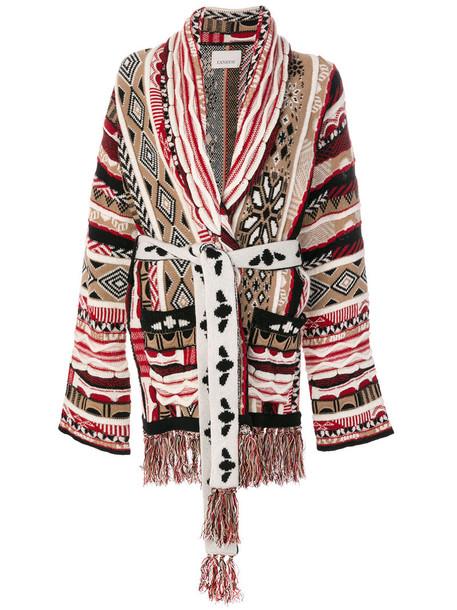 Laneus - belted cardigan - women - Cashmere/Wool - S, Cashmere/Wool