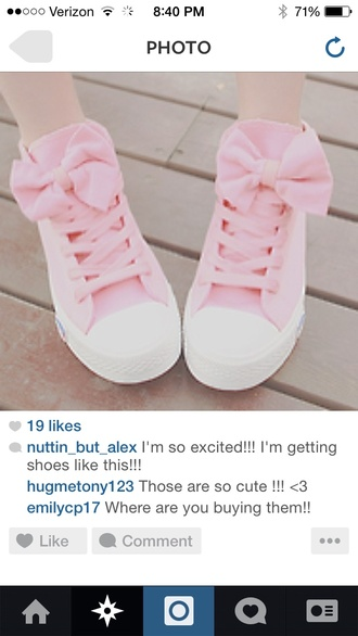 shoes sneakers bows