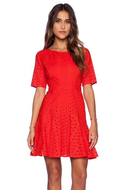 TRYB212 dress red