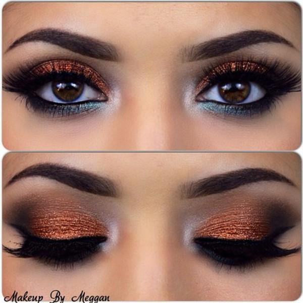 make-up eye makeup party make up