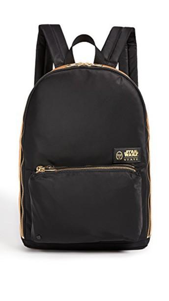 STATE mini backpack gold black bag