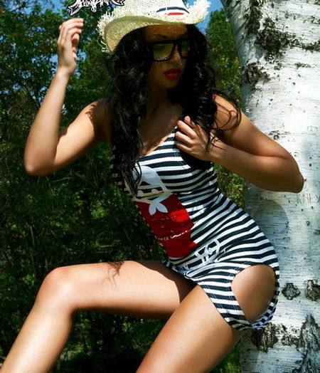 Striped dress shirt, russian nesting doll style