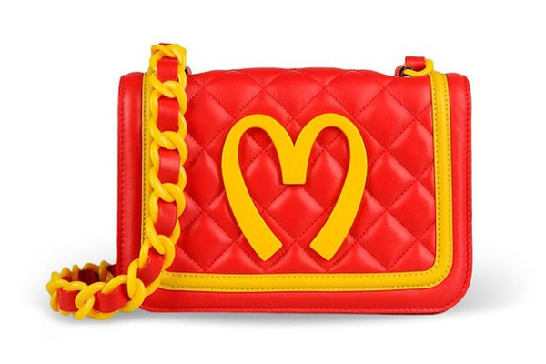 bag moschino mcdonalds bag