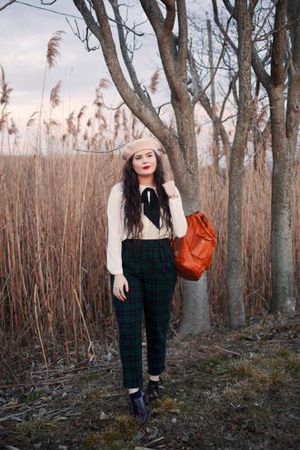 noelles favorite things blogger pants blouse shoes coat