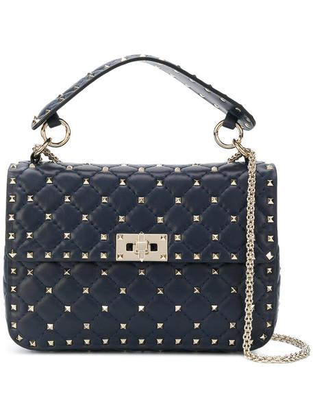 Valentino women bag crossbody bag leather blue
