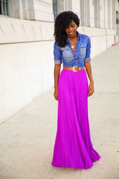 purple and pink dress - Dress Yp