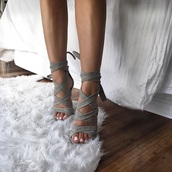 shoes,grey heels,high heel sandals,strappy heels