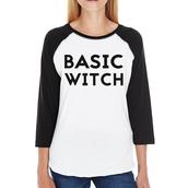 shirt,basic witch,witch,halloween,halloween shirt,funny shirt,graphic tee,long sleeve shirts,baseball tee,white shirt