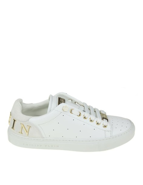 PHILIPP PLEIN sneakers. sneakers leather white shoes