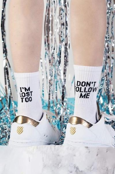 Socks - Don't follow me
