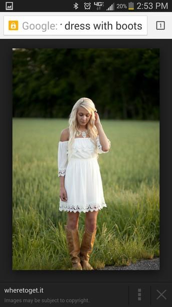 dress biege