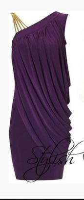 dress,short dress,one shoulder dress,plum dress,eggplant,purple dress,draped dress,asymmetrical dress