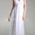 Chiffon Sheath/ Column V-neck Floor-length Evening Dress - USD $ 149.99