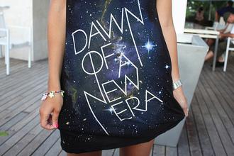 print dress black dress quote on it dress