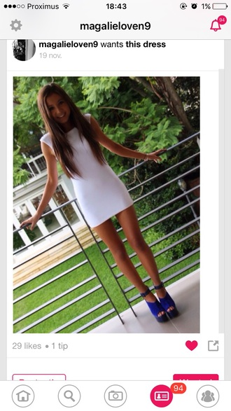 dress white perfecto brown white dress