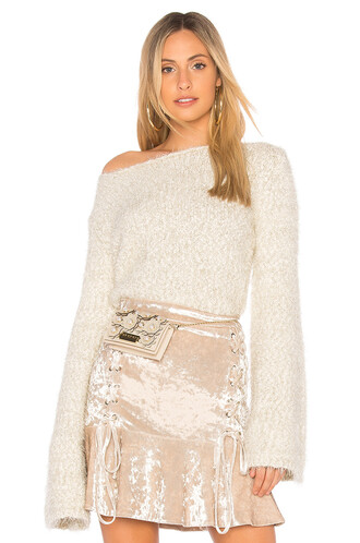 sweater cropped sweater cropped cream