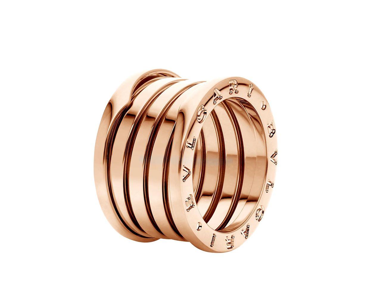 BVLGARI B.zero1 Rings Rose gold