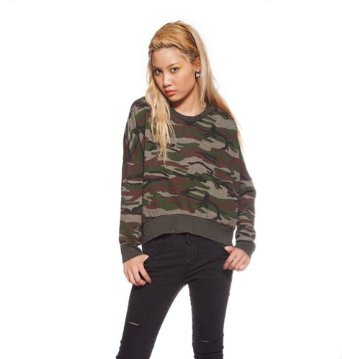 Amazon.com: Violet Boutique Women's Sarah Camo Sweatshirt Os Camouflage: Clothing