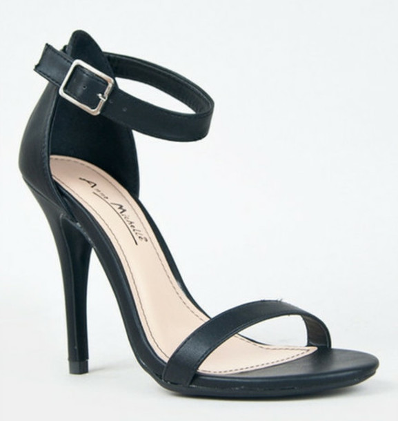 Shoes: nude, heels, sandals, sandal heels, straps, strappy sandals ...