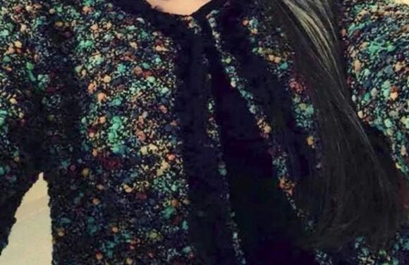 jacket chanel inspired tweed blazer tweed jacket