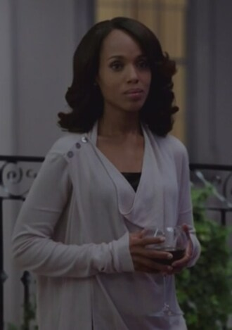 cardigan olivia pope scandal shoulder-button kerry washington lilac