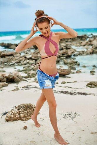 swimwear bikini bikini top bikini bottoms