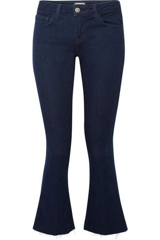 jeans denim cropped dark