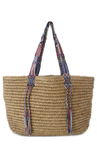 bag fallon and royce beach bag raffia bag