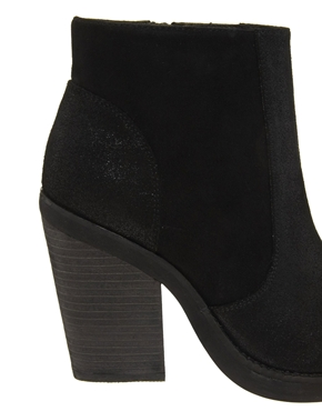 ASOS | ASOS ARTICULATE Leather Ankle Boots at ASOS