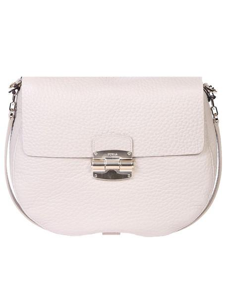 Furla bag shoulder bag leather white