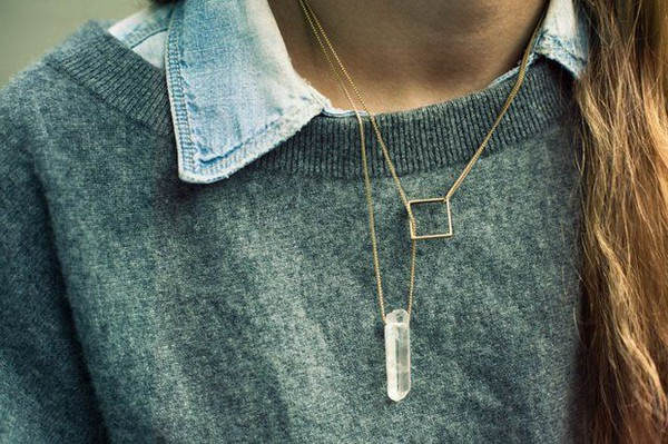 jewels necklace crystal jewels accessories minimalist jewelry