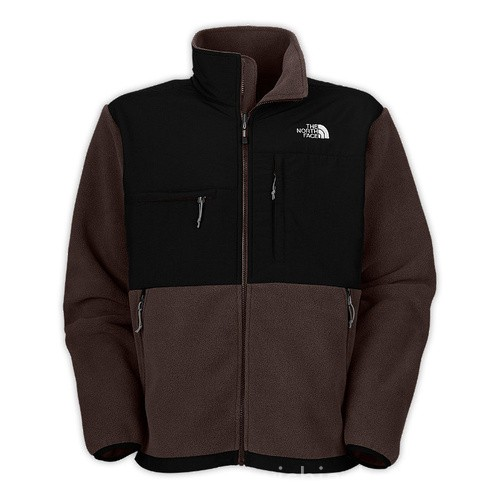 North Face Mens Denali Fleece Jacket Brown Bj130202