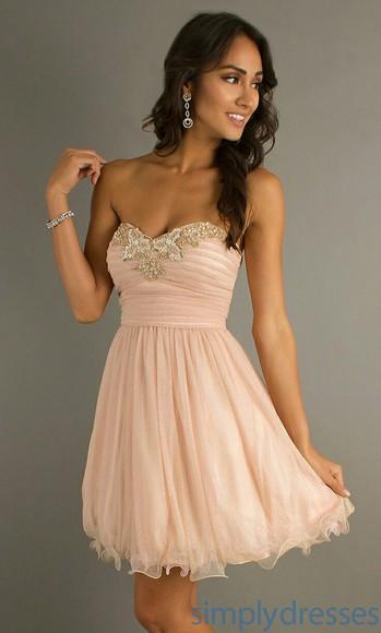 bandage dress homecoming dress pink dress short dress