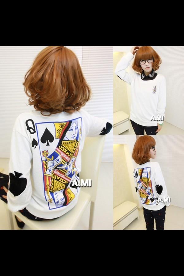 sweater poker sweater