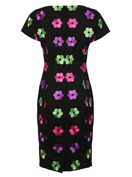 Moschino dress embroidered dress embroidered floral
