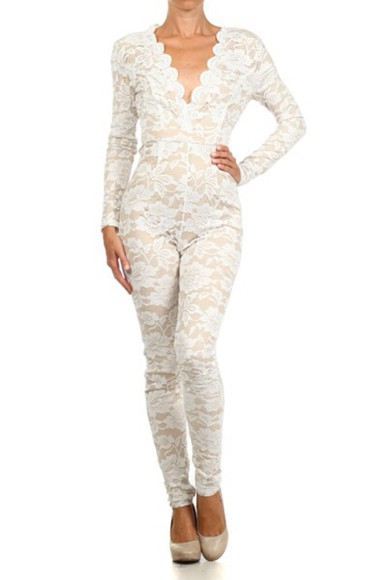 lace up jumpsuit bodysuit sexy fashion dope