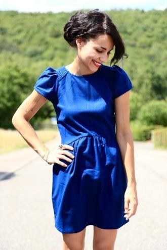 coline blue blue dress dress