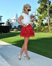 skirt,red,roses,red rose,red roses,skater