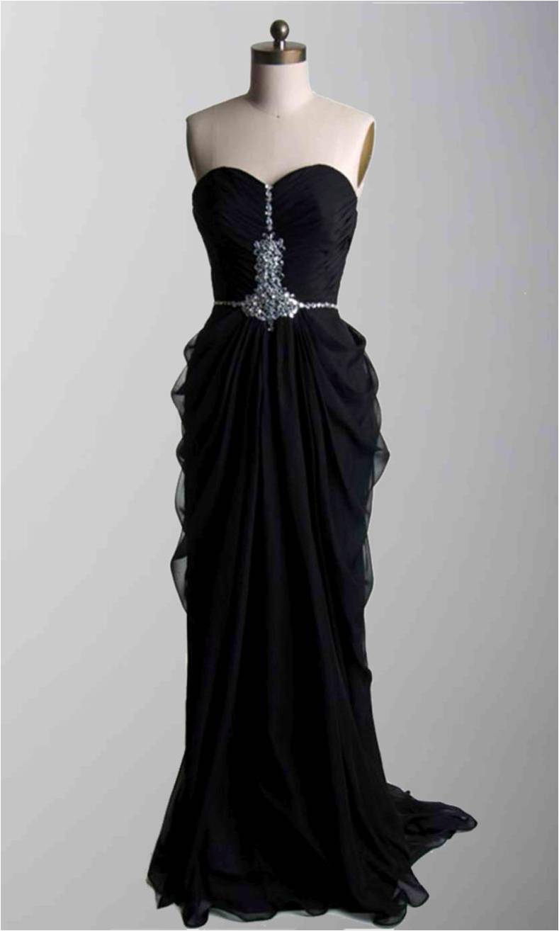 Black strapless ruching long formal dresses ksp322 ksp322 Wedding dress 99 dollars