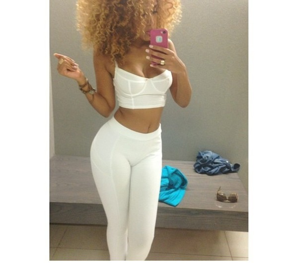 leggings white crop tops cardigan underwear