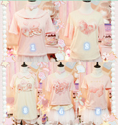 top,harajuku,japanese shirts,japanese fashion,jfashion,cute,kawaii,sweet